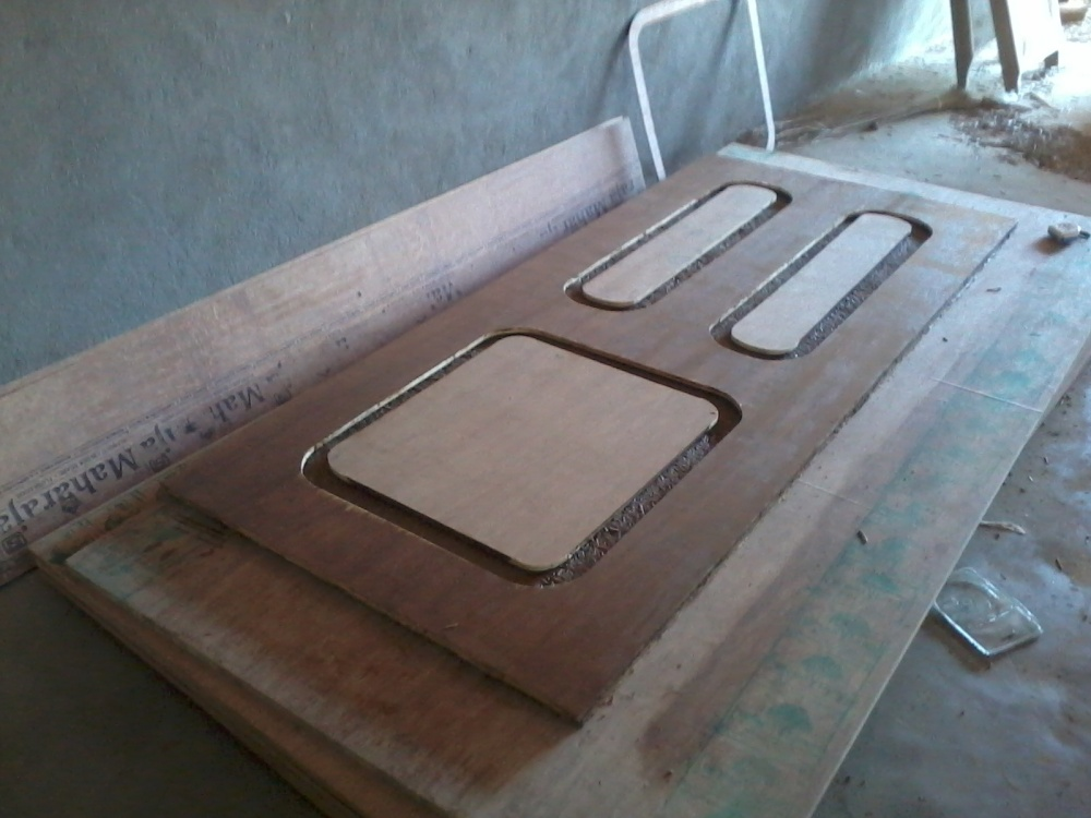 Molded Door Under Prodfuction