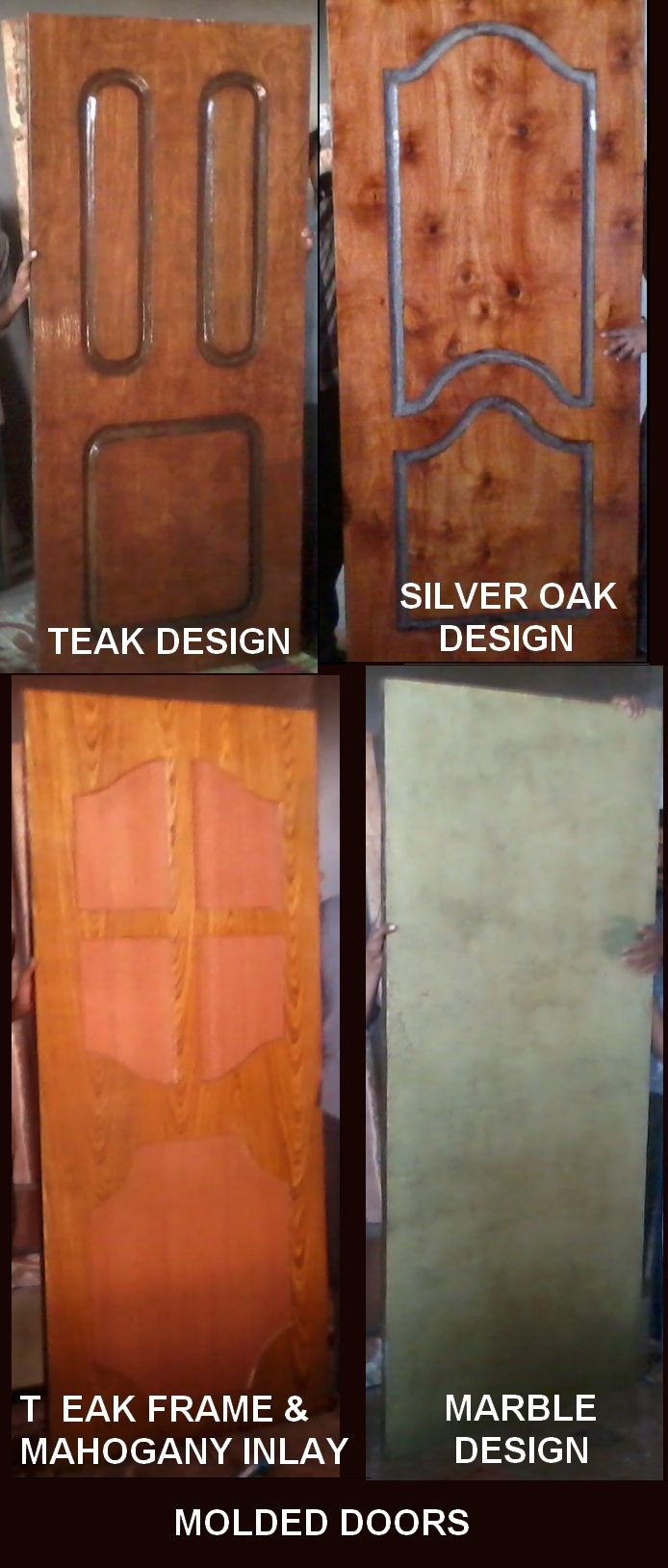 A FEW MOLDED DOORS