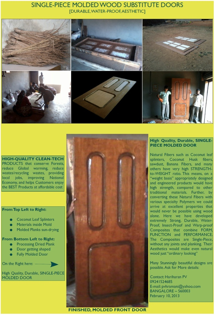 Environment Friendly MOLDED DOORS